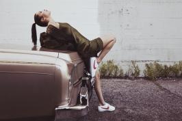 Bella Hadid Nike Cortez - 5