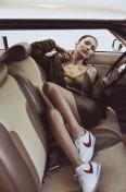 Bella Hadid Nike Cortez - 6